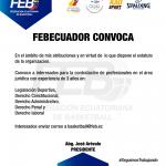 FEBEcuador Convoca